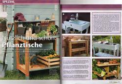 Gärtnern leicht gemacht, Ausgabe 04/2010, Living & More Verlag, Augsburg